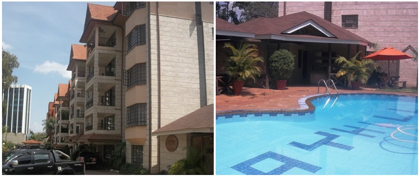 4br apartment for sale in Upperhill Nairobi