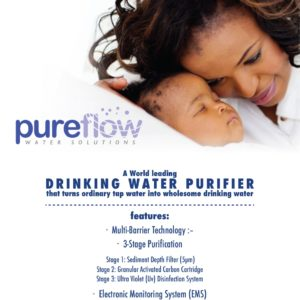 PureFlow Drinking Water Purifier
