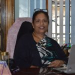 Radhika Lee in her office