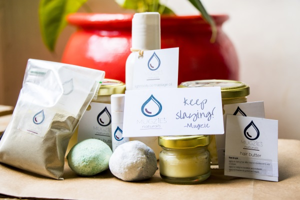 Some of Mugzies Natural products
